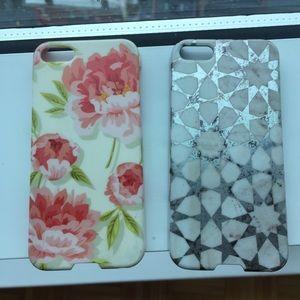 [Agentia] Two iPhone 5 5s Cases